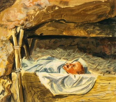Jesus in manger