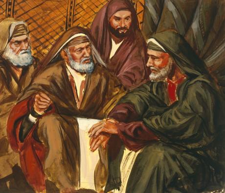elders of Israel with Samuel