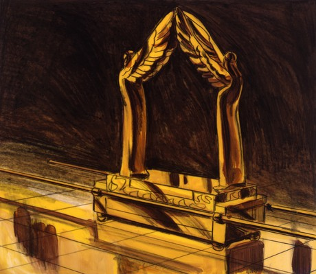 ark of the covenant in temple