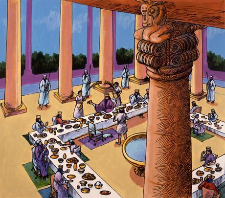 large feast