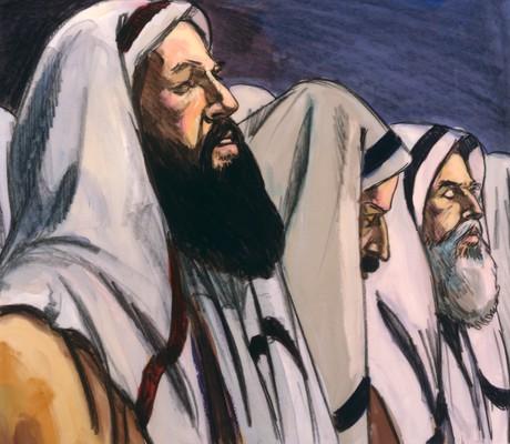 Jews waiting for the Savior