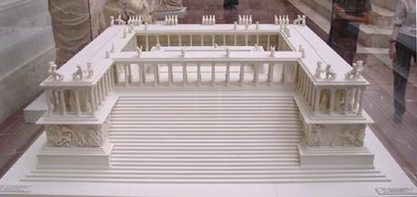 model of altar