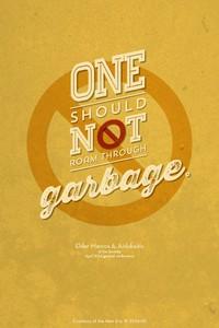 garbage wallpaper