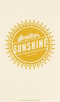 scatter sunshine wallpaper