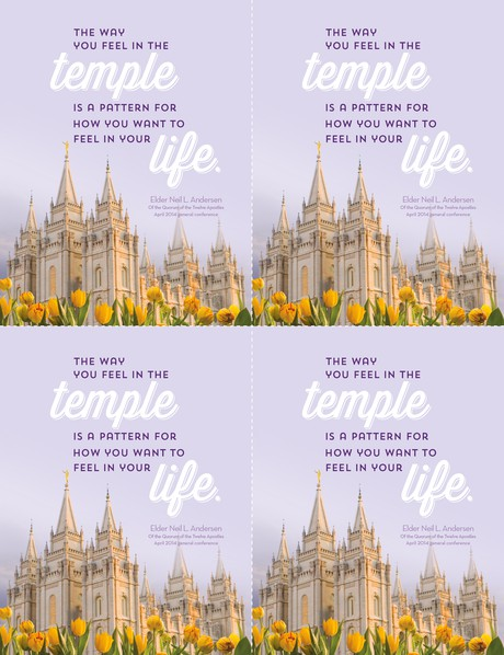temple card four-up
