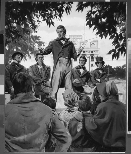 Joseph preaching