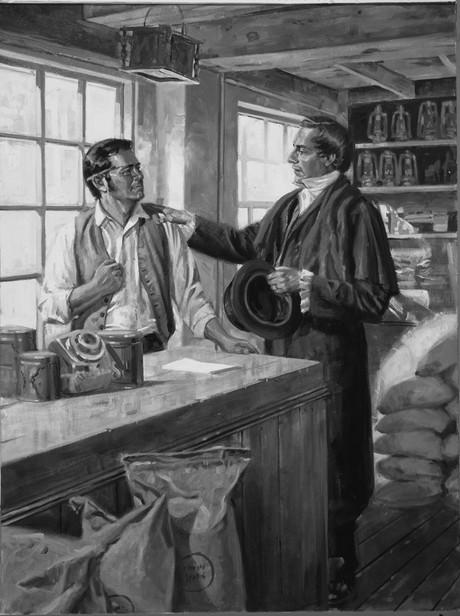 Joseph and Newel K. Whitney