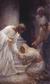 Jesus Christ healing a woman