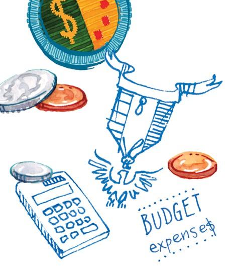 coins, calculator, Eagle award