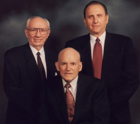 Presidents Hunter, Hinckley, and Monson