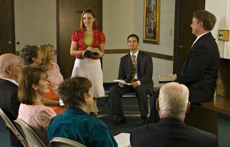 adult Church class
