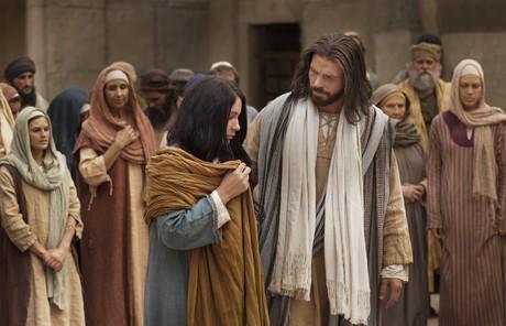 Savior and woman
