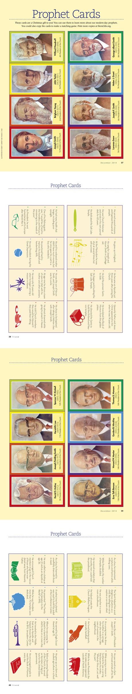 Prophet Cards