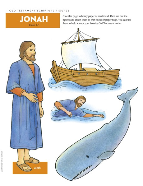 Scripture Figures, Jonah