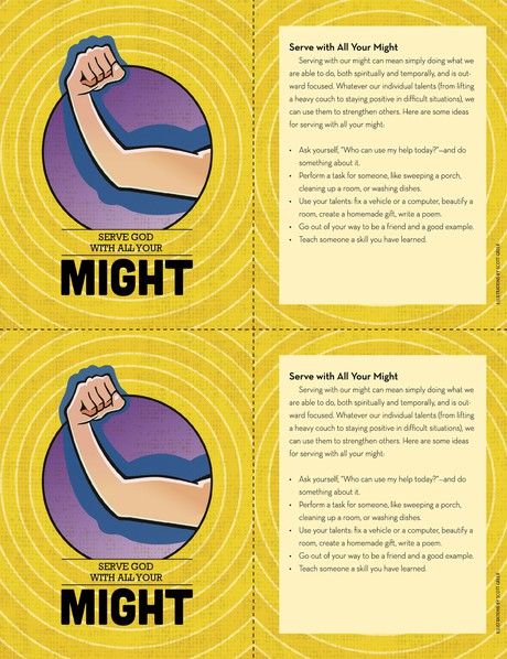 might card 2-up