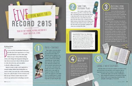 Five Fun Ways to Record 2015