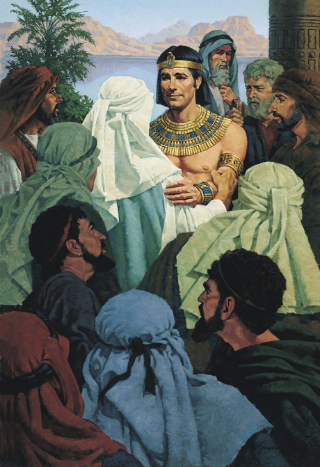 Joseph Forgiving His Brothers