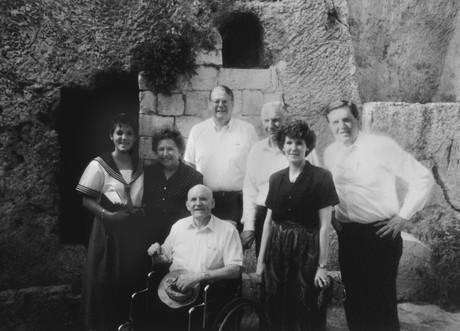Elder Hunter and Teddy Kolleck