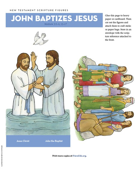 John Baptizes Jesus - friend