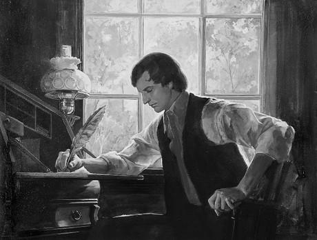 Joseph writing