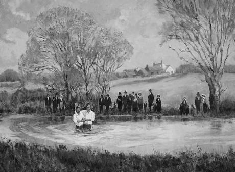 baptism pond