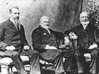 Wilford Woodruff, Joseph F. Smith, George Q. Cannon