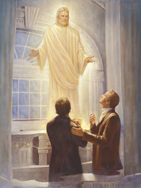 The Lord Appears in the Kirtland Temple