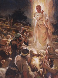 The Angel Appears to Shepherds