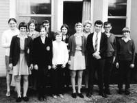 group of Australian seminary students