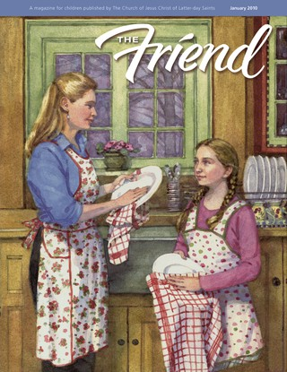 January 2010 Friend cover