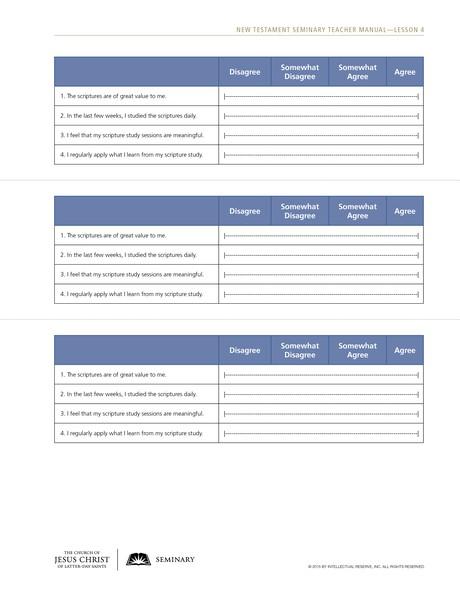 handout, survey