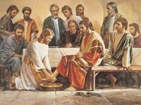 Jesus Washing the Apostles' Feet