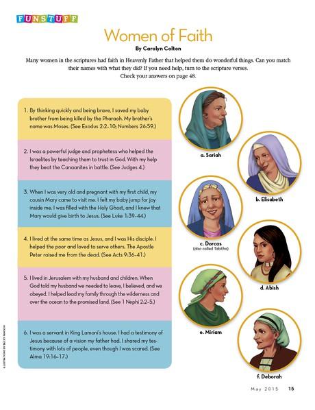 Funstuff: Women of Faith