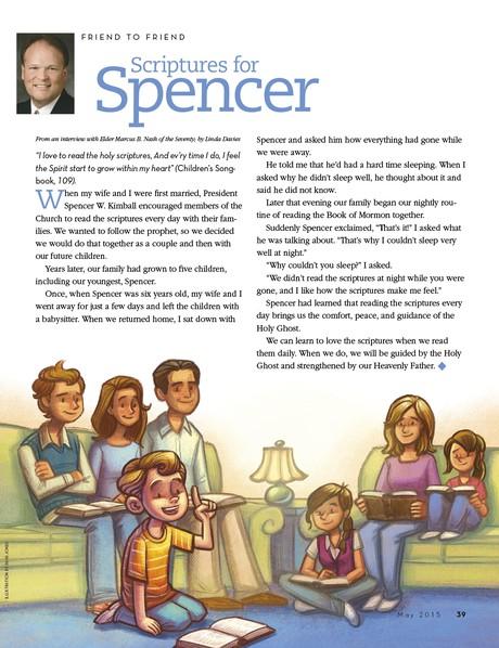 Scriptures for Spencer