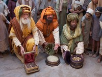 Wise Men with gifts