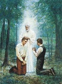 John the Baptist Conferring the Aaronic Priesthood