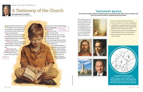 A Testimony of the Church