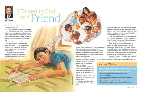 I Talked to God as a Friend