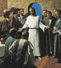Jesus Shows His Wounds