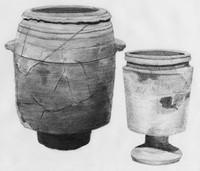 limestone pots