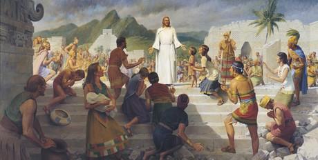Jesucristo visita las Américas