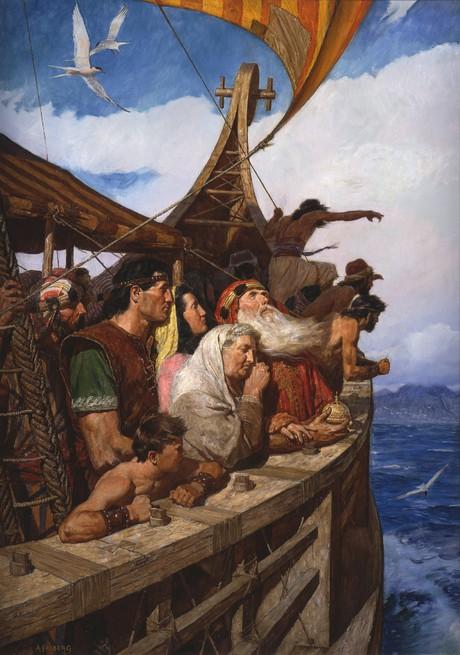 Lehi y su gente llegan a la tierra prometida