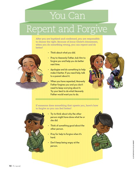 You Can Repent and Forgive
