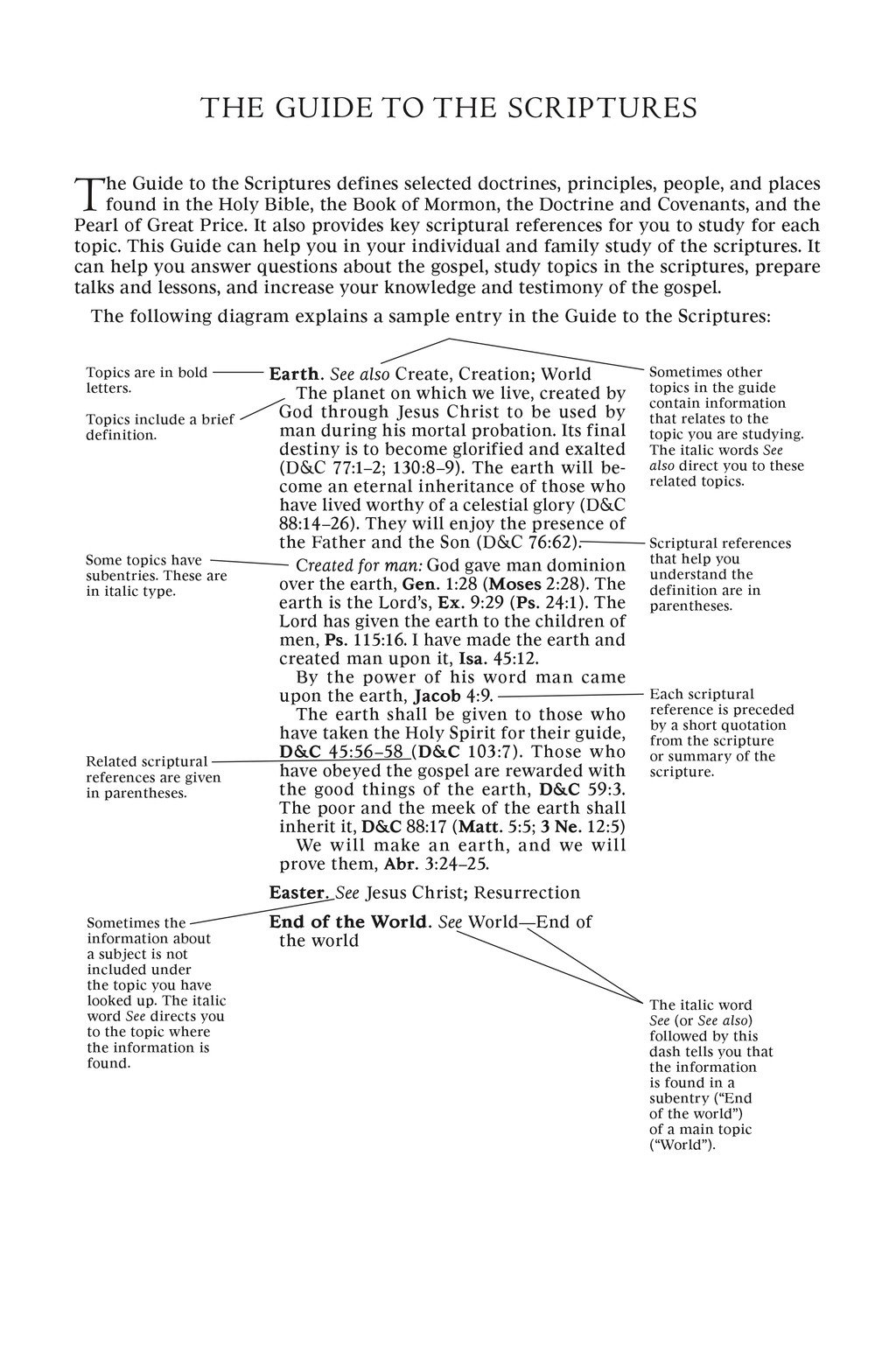 Guide to the Scriptures