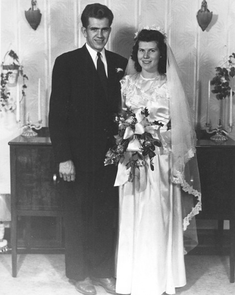 Boyd K. and Donna Smith Packer wedding