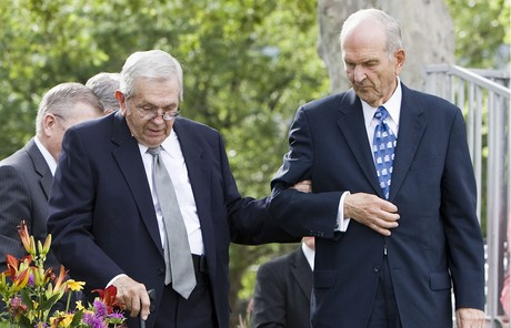 Boyd K. Packer and Russell M. Nelson