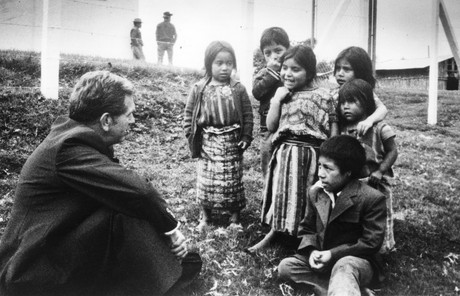 Boyd K. Packer and Guatemalan children
