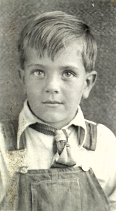 Boyd K. Packer as a boy