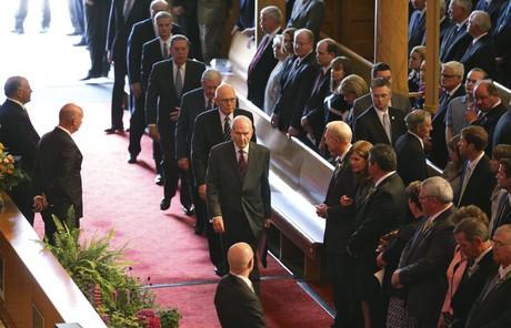 funeral for Boyd K. Packer