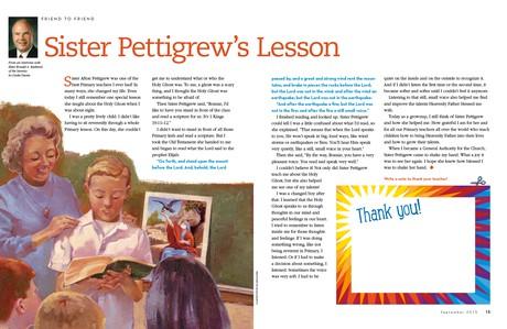Sister Pettigrew's Lesson